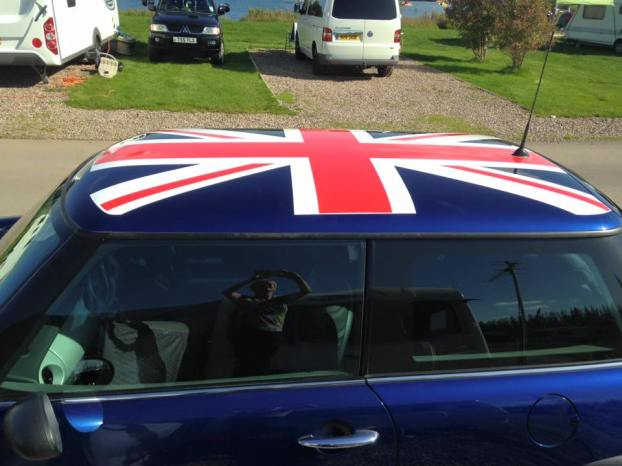 Union Jack Mini Roof